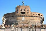 Castel Sant&#39; Angelo in Rome, Italy 