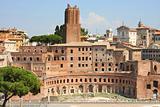 Trajan Market (Mercati Traianei) in Rome, Italy