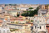 panorama Rome, Italy