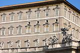 Apostolic Palace, Pope&#39;s residense and window