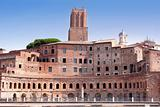 details of Trajan Market in Rome
