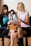 Businesswomen in office