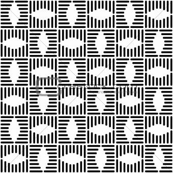 Black White Checkered Pattern, Black White Checkered Pattern