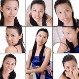 Elegant Asian lady