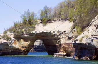 Arch in Pictured Rocks National Lakeshore