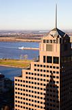 Tall buildings in downtown of Memphis