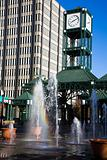Clock Tower in downtown Memphis