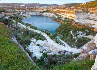 Abandoned quarries