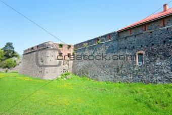 bastions of Uzhhorod Castle (Ukraine)