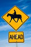 Horseback Riding sign