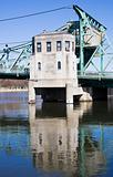 Details of Historic bridge in Joliet