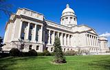 Facade of State Capitol in Frankfort