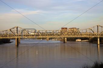 Bridge between Ohio and Kentucky
