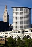 Summer in downtown Cleveland