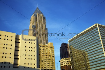 Skyscrapers in Cleveland