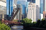 Bridges on Chicago River