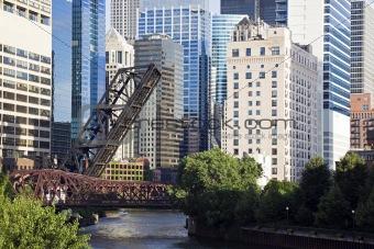 Bridges on Chicago River