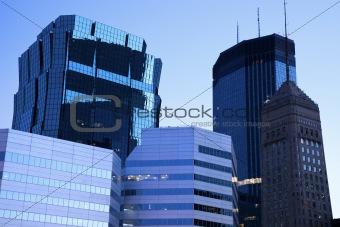 Blue Morning in Minneapolis