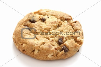 Single chocolate chip cookies