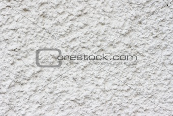 Cement plaster wall close-up