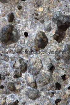Slag stone / scoria detail