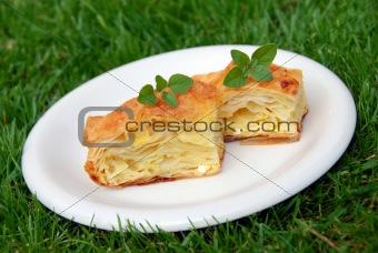 Appetizing homemade pastry