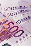 euro banknotes