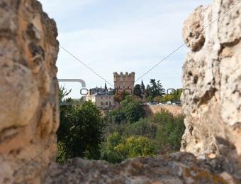 Alcazar fortress of the Segovia city