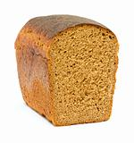 isolated bread on white background