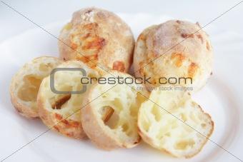 Fresh baking homemade cheesy bread