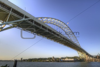 Fremont Bridge Portland Oregon