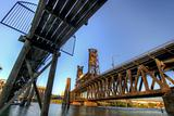 Steel Bridge Portland Oregon
