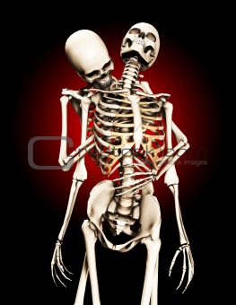 Caught By A Skeleton