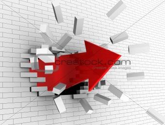 break wall