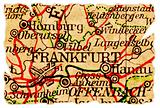 Frankfurt old map