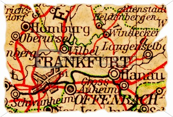 Frankfurt old map