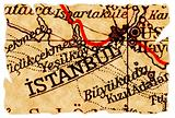 Istanbul old map
