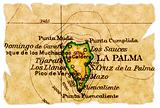 La Palma old map