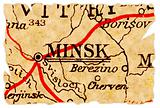 Minsk old map