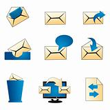 mailing icons