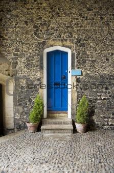 OLD GOTHIC STYLE DOOR