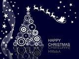 christmas scene - christmas card