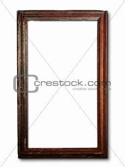 old wood frame