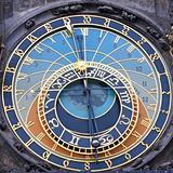 The Prague Astronomical Clock - square