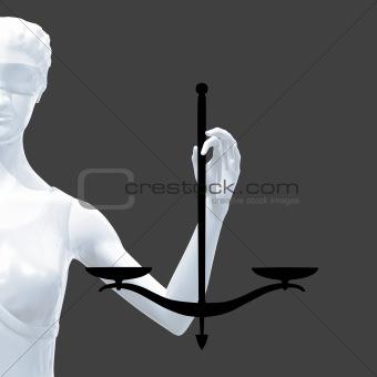 Statue of Themis.