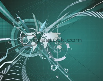 Abstract corporate business background
