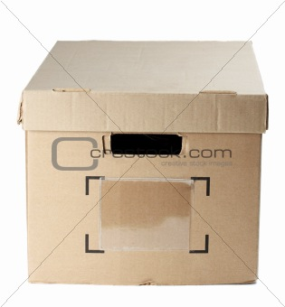 box with closed cover