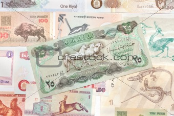 Background from bills