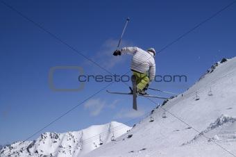 Freestyle skiing