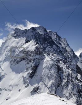 Caucasus Mountains. Dombay-Ulgen.